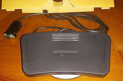 Working SONY FS-85 FOOT PEDAL CONTROL FOR TRANSCRIBER DICTATOR TRANSCRIPTION