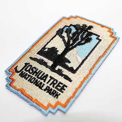 Official Joshua Tree National Park Souvenir Patch - California