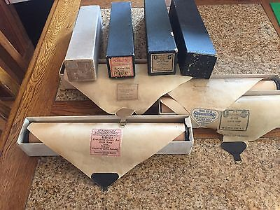 4 Vintage Player Piano Rolls, Good Condition, Ballads, 1920's & earler