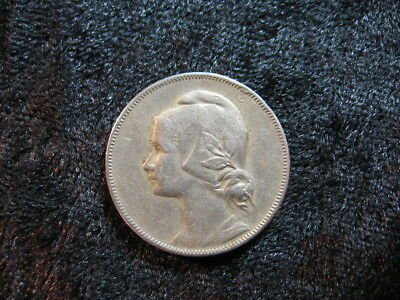 1 old world coin lot PORTUGAL 4 centavos 1917 KM566 maiden girl FREE S&H