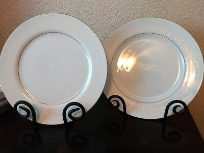 Ten Plates Crown Victoria China Lovelace Pattern Dinner Plate 10-3/8""