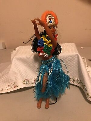 Wish It Was Spring Clean Out Sale: Tacky Plastic Hula Dancer Doll on Stand