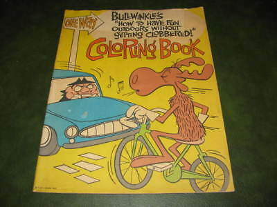 Bullwinkle's How To Have Fun Outdoors Without Getting Clobbered 1963 Color Book