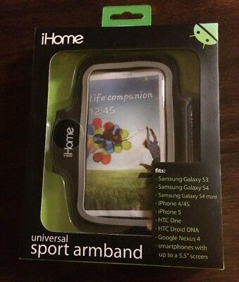iHome Universal Sport Armband One Size Fits Most Black