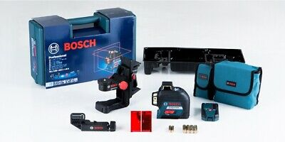 Bosch GLL3-80 SET 360° Three-Plane Leveling and Alignment-Line Laser  2017