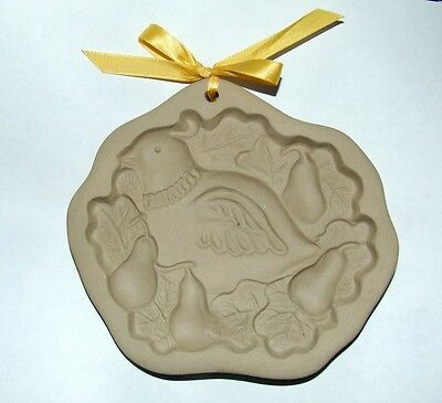 Brown Bag 1990 Partridge Pear Tree Cookie Mold~Hill Design 16256026~Chocolate