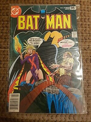 Batman #299 - May 1978 Issue Unofficial Grade: VG/FN DC Comic Bronce Age