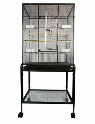 Long Tail Bird Parrot cage Chinchilla Ferret small animals cage W/Stand Overall