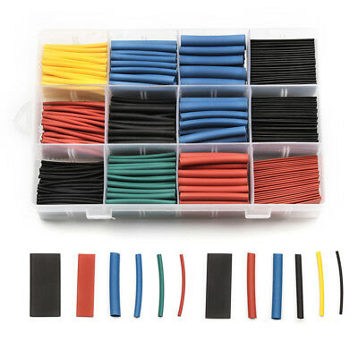 560 pcs Heat Shrink Tubing Tube Assortment Wire Cable Insulation Sleeving Kit