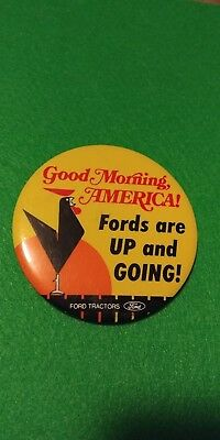 Ford Tractors Pinback Button