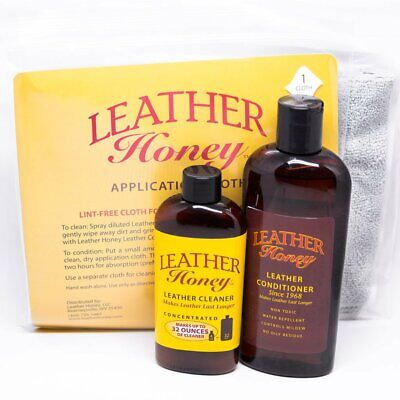 Small Leather Care Bundle for shoes, handbags, apparel, small items