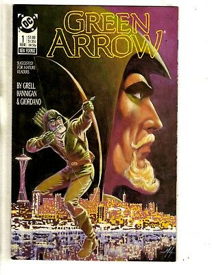 Lot Of 10 Green Arrow DC Comic Books # 1 2 3 4 5 6 7 8 9 10 Superman Batman CR6