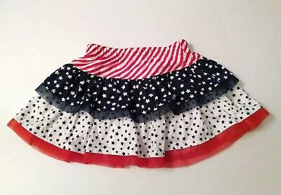 Girls Red, White and Blue Skort. Size 2T.