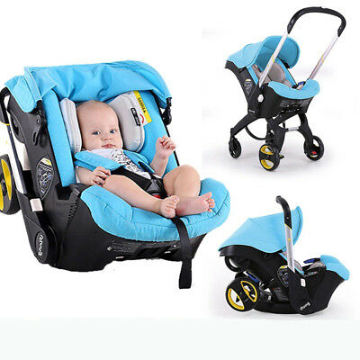 baby stroller 3 in 1 foldable Travel pushchair car seat stroller Portable basket