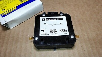 NEW Square D 9999DD10 Auxiliary Contact Series C