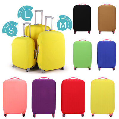 "Protector Cover Case for 18""- 30"" Luggage Suitcase Solid Elastic Stretch Fabric"