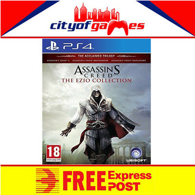 Assassins Creed The Ezio Collection Game PS4 New & Sealed Free Express Post