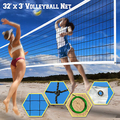 32ftx3ft  Volleyball Net Official Size Beach Indoor Outdoor