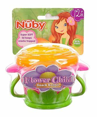 Nuby Flower Child Snack Keeper