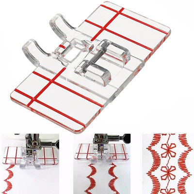Parallel Stitch Foot Presser for Home Domestic Sewing Machine Tool Salable