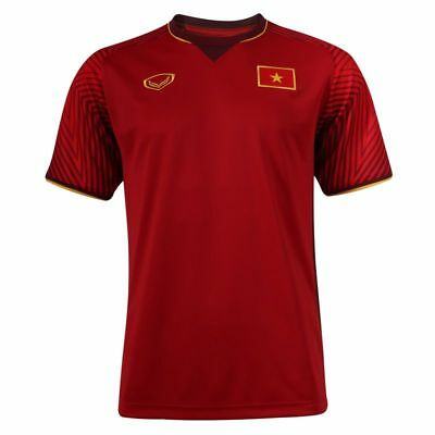 100% Authentic 2018 Vietnam Football Soccer National Team Jersey Shirt Red