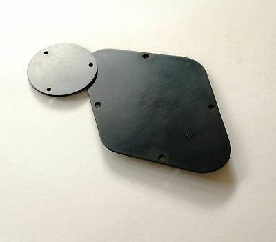 Aged HISTORIC LP Back Plate Black fits to Les Paul ®