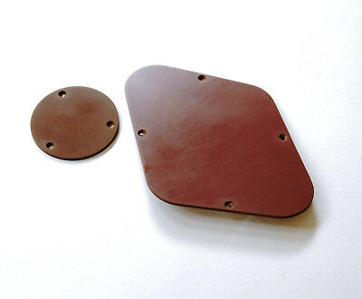 Aged HISTORIC Gold Top Back Plate Brown fits to Les Paul ®