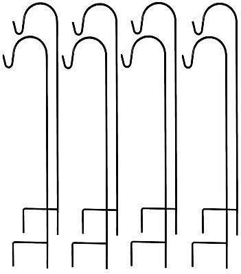 Ashman Shepherds Hooks Set of 8 and 35 Inches long made of Premium Metal for Han