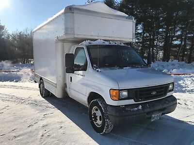 2006 Ford E-450 Box Cube Van With Attic