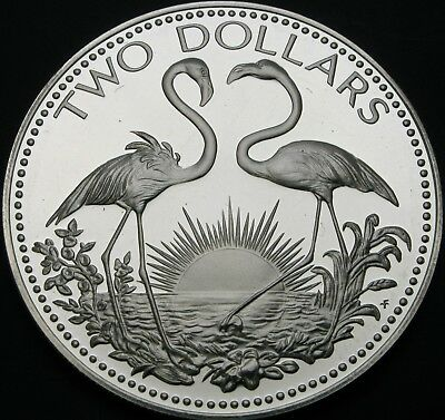 BAHAMAS 2 Dollars 1974 Proof - Silver - 3245 ¤