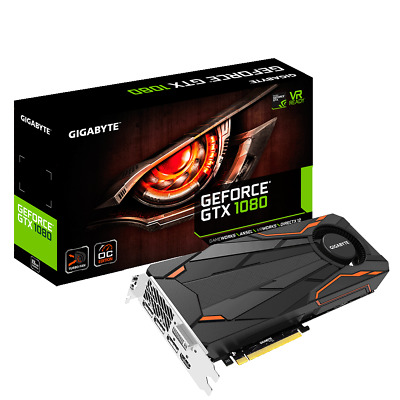 GIGABYTE GeForce GTX 1080 Turbo OC 8G GV-N1080TTOC-8GD