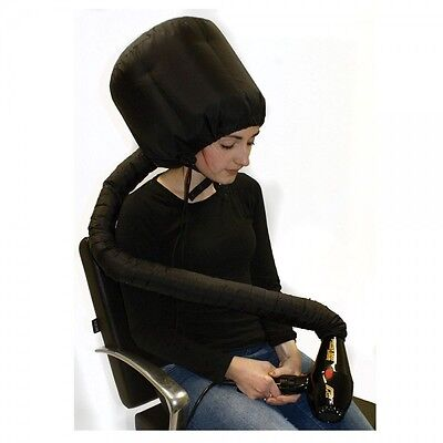 Professional Hairdryer Hood Black Universal Portable Perfect For Salons/hairdres