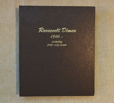 NEW ROOSEVELT DIMES WITH PROOFS DANSCO ALBUM #8125 - 1946 to 2023 - NO COINS