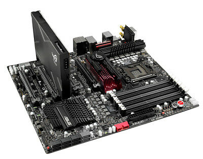 ASUS Rampage III Black Edition, LGA1366 Socket, Intel Mainboard