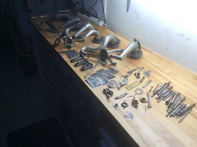 Lot of antique phonograph parts # 1