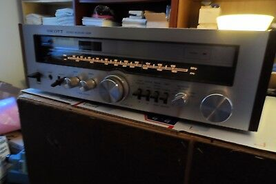 H.H. Scott  320R Stereo  Receiver Powers Up Tested AS-IS See Description