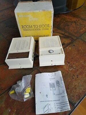 Vintage Miami Carey Model 1530 Intercom Room to Door Communication System
