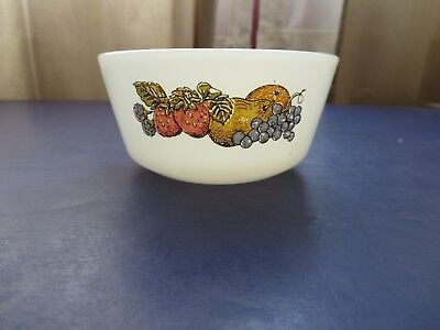 1 Vintage Fire-King Custard Cup Milk Glass Fruit Bowl Anchor Hocking 6 oz