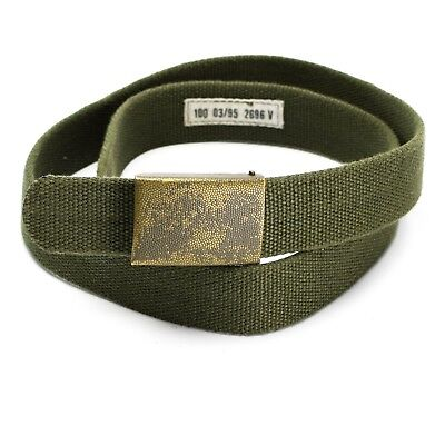 Genuine German army military belt. German military belt
