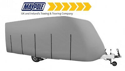 Maypole 4 Ply Caravan Cover in Grey fits caravans 5.6m - 6.2m (19 - 21ft) MP9434