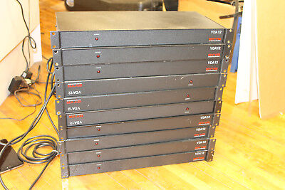 GYYR An Odetics Division VDA12 CCTV Security System Unit x10 Lot Video Output