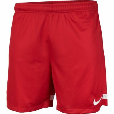 "New Nike Mens Red Dri Fit Knit Adults Sports  Football Shorts Medium 32 - 35"" W"