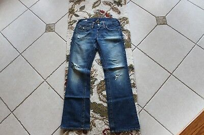 Men's True Religion Studded Straight BILLY EMBELLISHED Jeans Size 29