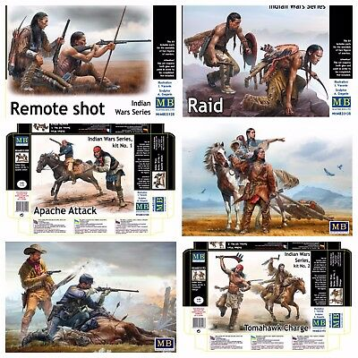 Master Box 1/35 Scale - Indian Wars Series 35128 35138 35188 35189 35191 35192