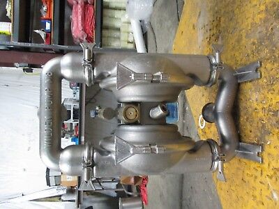 """Wilden M8 Stainless 2 1/2 """" Diaphragm Pump #115226J 316Ss  No Tag Used"""