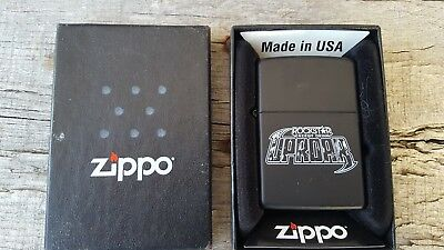ZIPPO ROCKSTAR ENERGY DRINK - UPROAR FESTIVAL w/ GUITAR PICK - EXCELLENT SHAPE