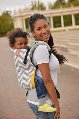 Tula toddler carrier- Gray Zig Zag