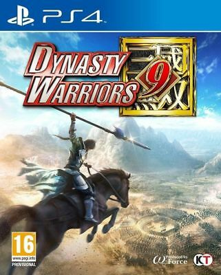Dynasty Warriors 9 Steelbook Edition (PS4) Brand New & Sealed IN STOCK NOW