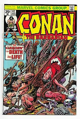 Conan The Barbarian #41 (1974) John Buscema Art! High Grade VF+ to VF/NM! NR!!