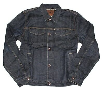 7 For All Mankind Men's Vintage Collection Jean Jacket in Vintage Dark, Medium